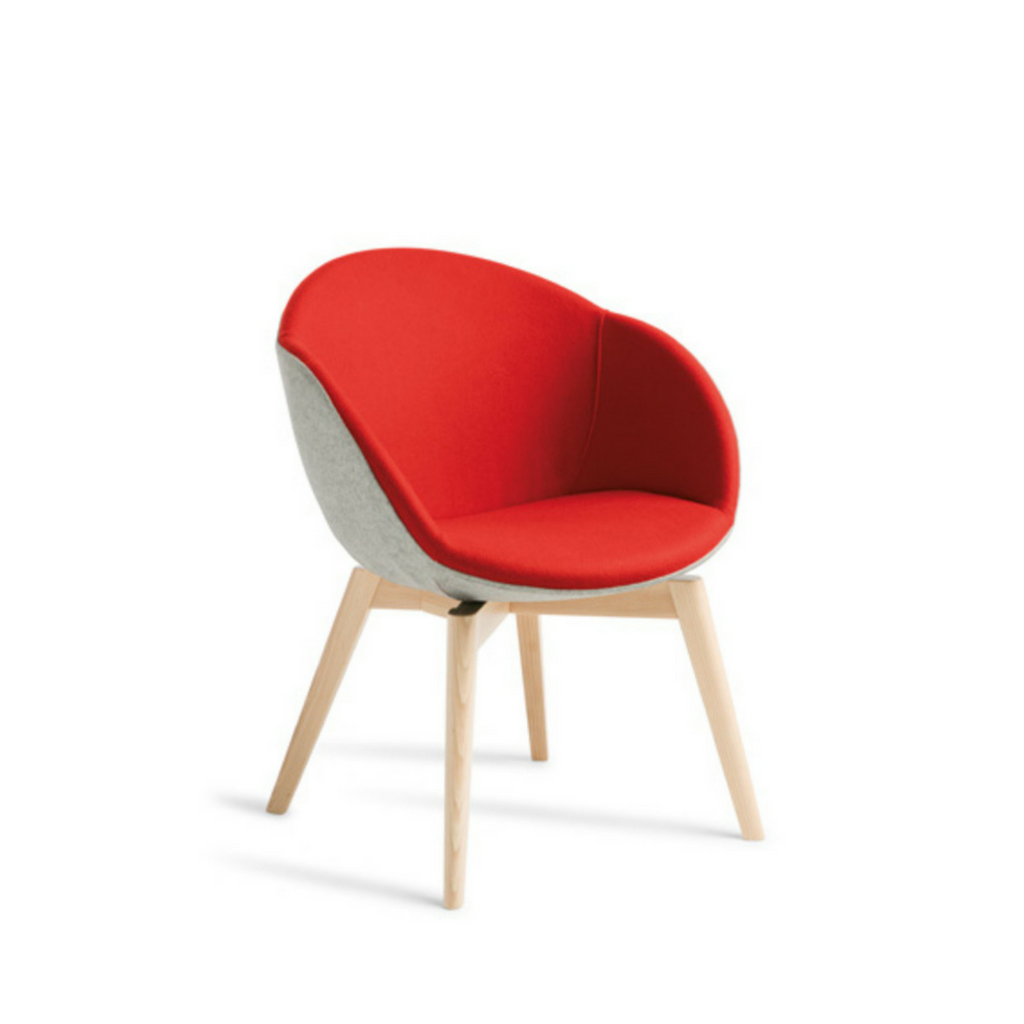 Amelia Chair Timber Base