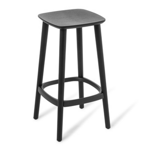 Babila Stools Black Stained Ash Timber