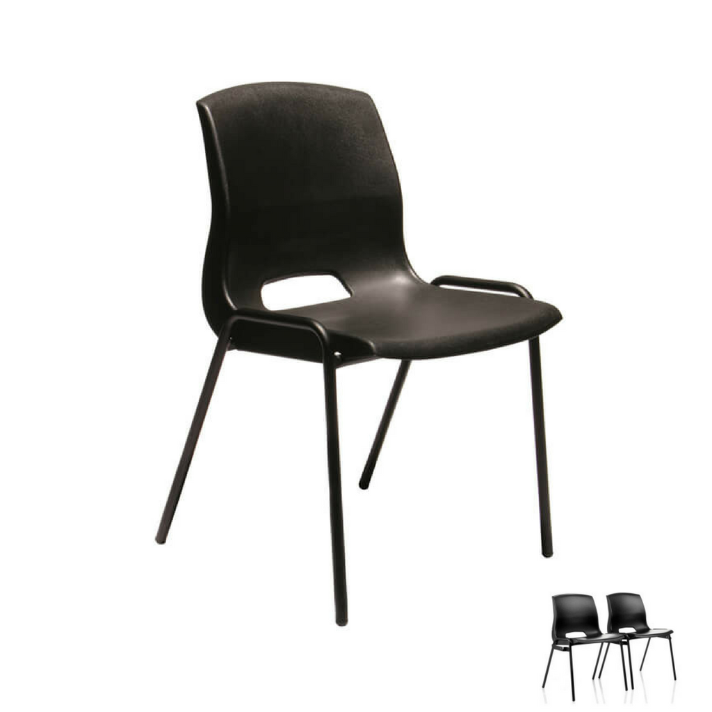 Quad Chair Black