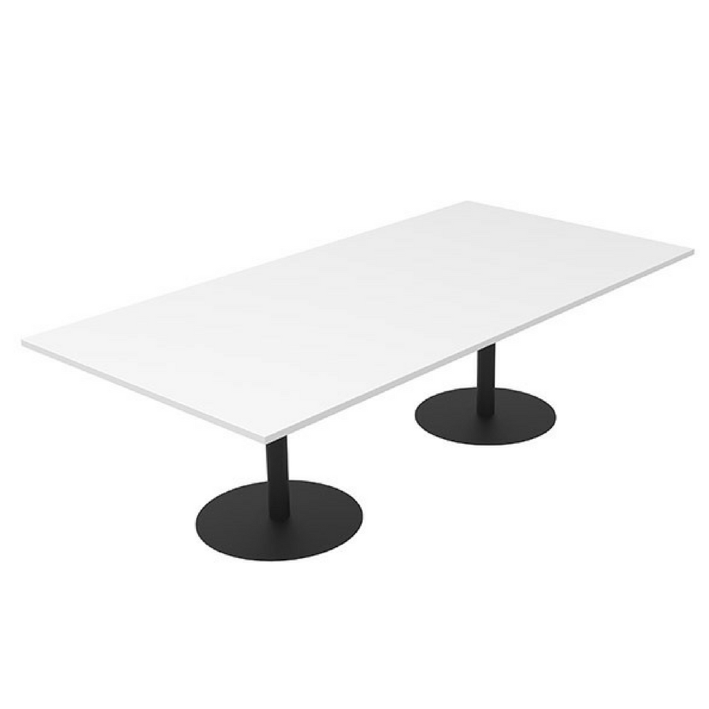 CLASSIC Boardroom Table  Rectangle Black Base