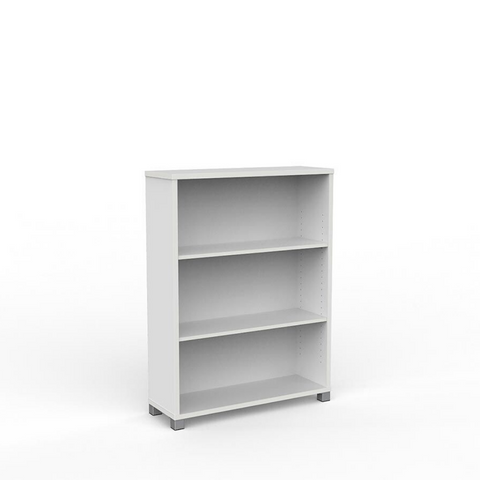 STORAGE Cubit Bookcase 1200mm High White