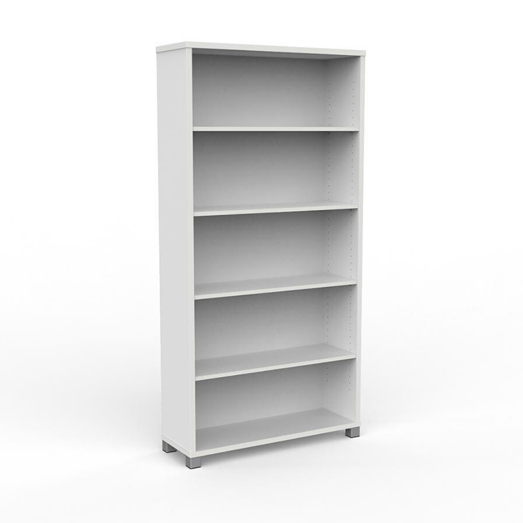 STORAGE Cubit Bookcase 1800mm High White