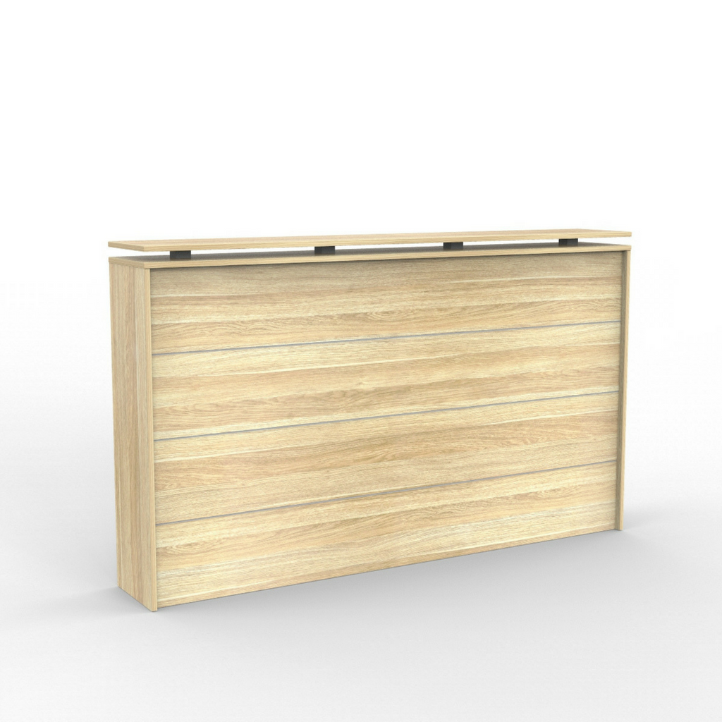 Cubit Reception Counter Front Atlantic Oak