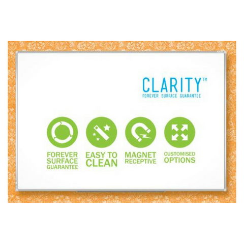 Porcelain Clarity Whiteboard