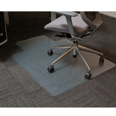 CoverZone PVC Chair Mat Carpet Protector