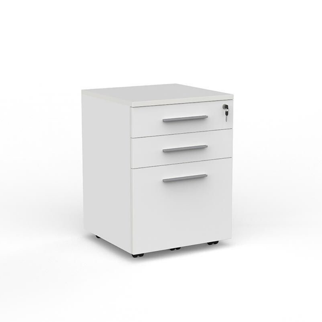 DESK CUBIT  MOBILE DRAWS 2 + 1 File Lockable