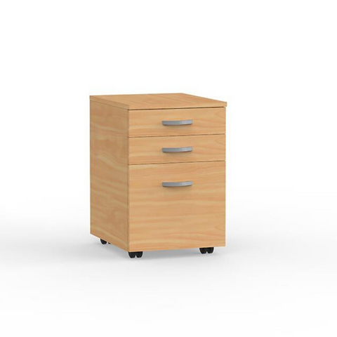 DESK EKO Mobile Draws 2 plus 1 File Draw