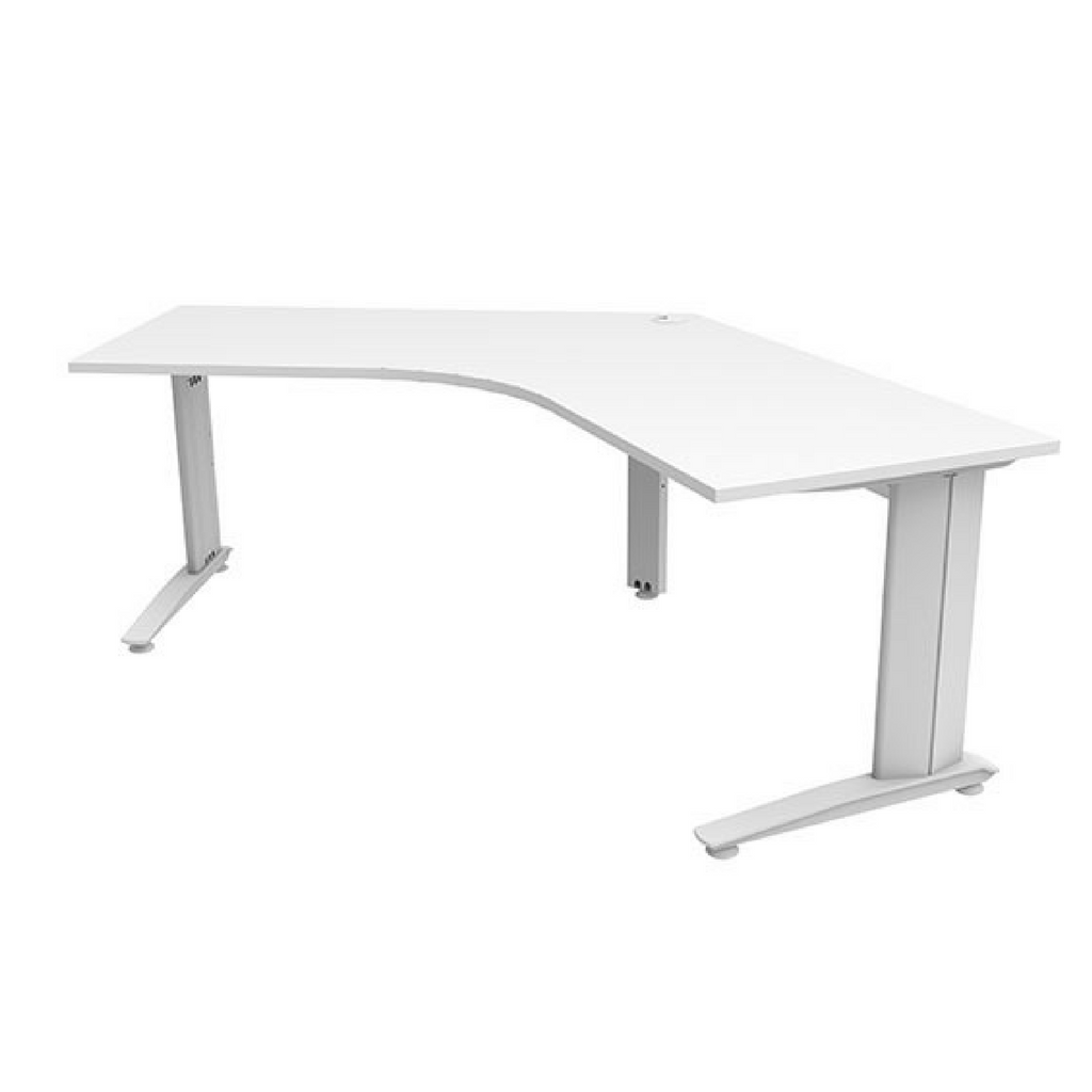 Energy  120 degree Workstation - White Top