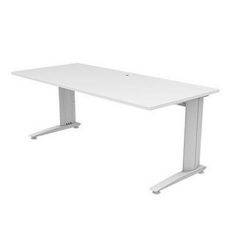 Energy Straight Desk - White Top