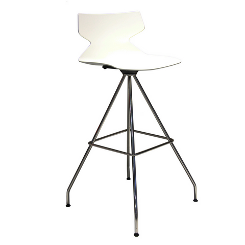 Fly Barstool 4 Legs Swivel