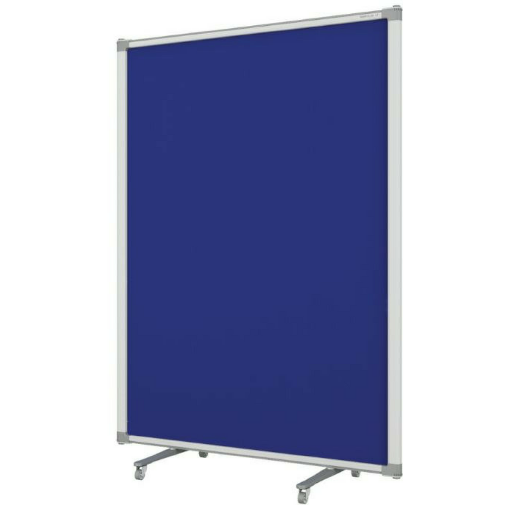 Z PARTITION Free Standing - Blue Fabric