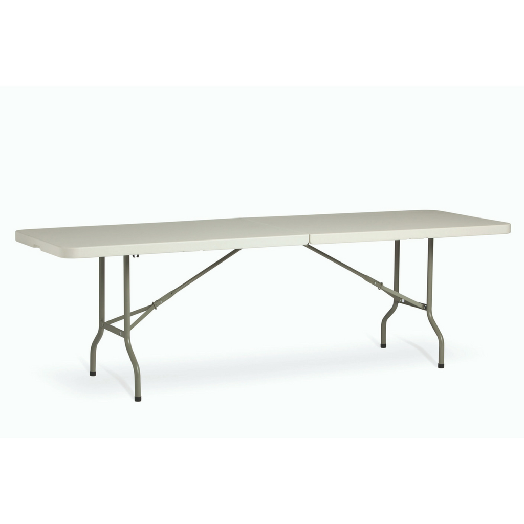 Life Folding Table Rectangle 2400mm 2 Piece