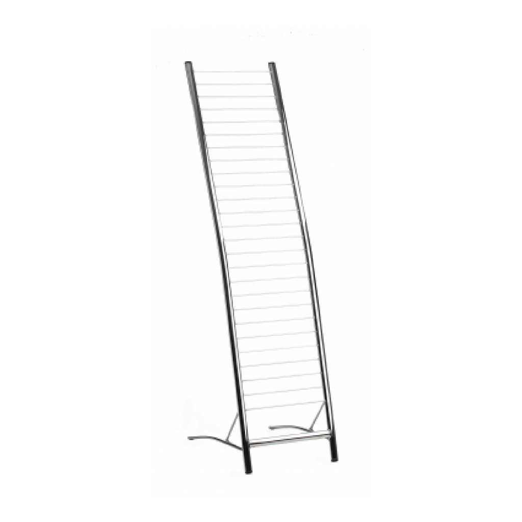 Magazine Rack Tall Chrome