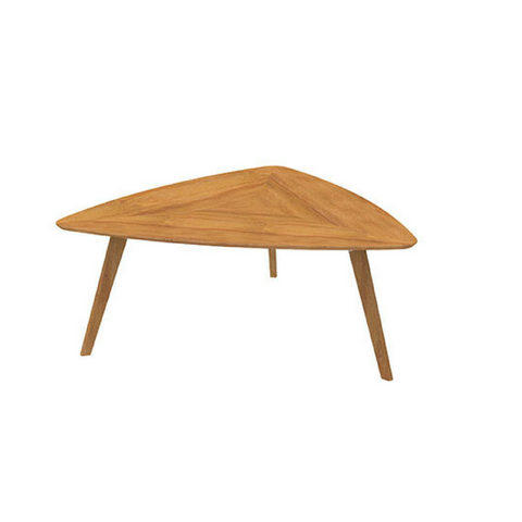 Oslo Triangular Sit Down Table, Ash Timber Base with Ash Timber Top
