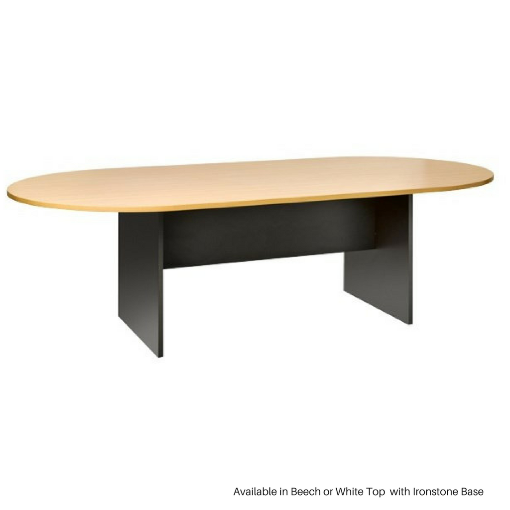 OPD Pulse Board Table OT525, 2400x1200mm, Ironstone Base