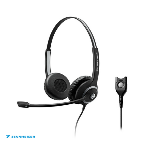 Sennheiser Circle™ SC 260 Binaural Wired Headset with Noise-Cancelling Mic