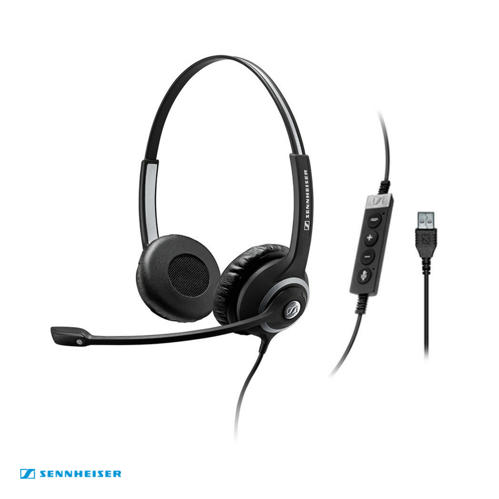Sennheiser Circle™ SC 260 USB CTRL II Binaural Wired Headset