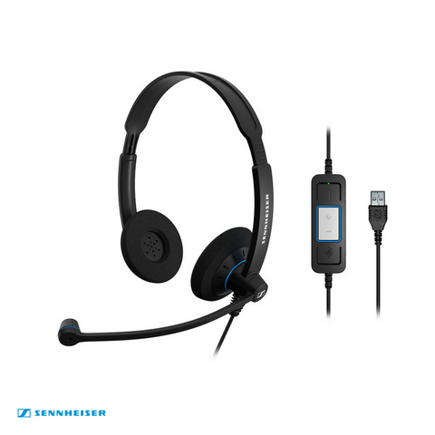Sennheiser Culture™ SC 60 USB CTRL Binaural UC Wired Headset