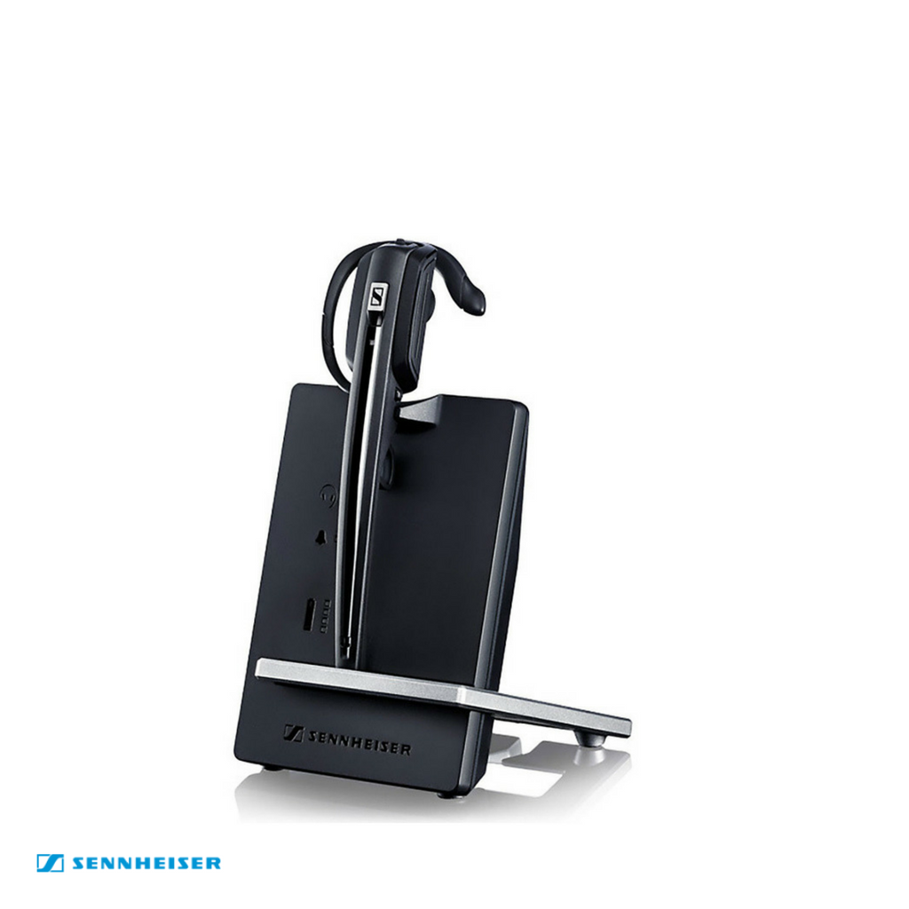 Sennheiser D 10 Wireless DECT Headset with Base Station - Deskphone only