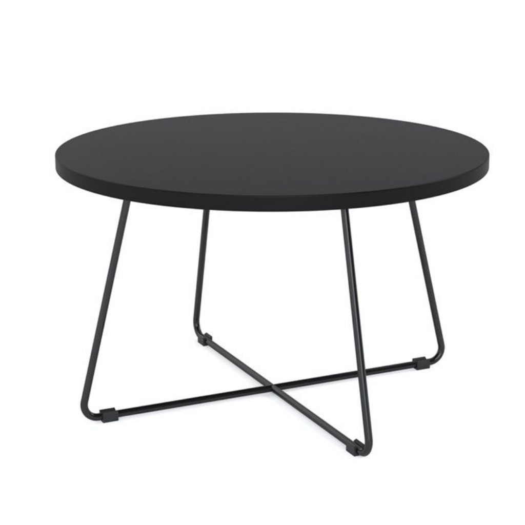 Zion Criss Cross Coffee Table 750mm Round