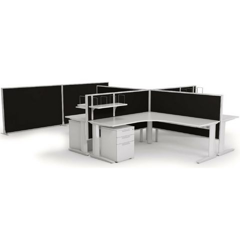 Studio 50 Desk Hung Screen - 900mm-High