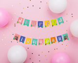 Happy Llamadan Banner - DIY Printable banner Digital Download