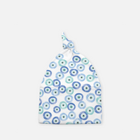 Evil Eye Knotted Cap - Infants