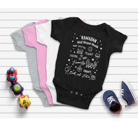 "Ramadan ""Blessed Month"" - Infant Baby Onepiece/Bodysuit"
