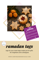 Welcome Ramadan colleague and neighbor tags (INSTANT DOWNLOAD)