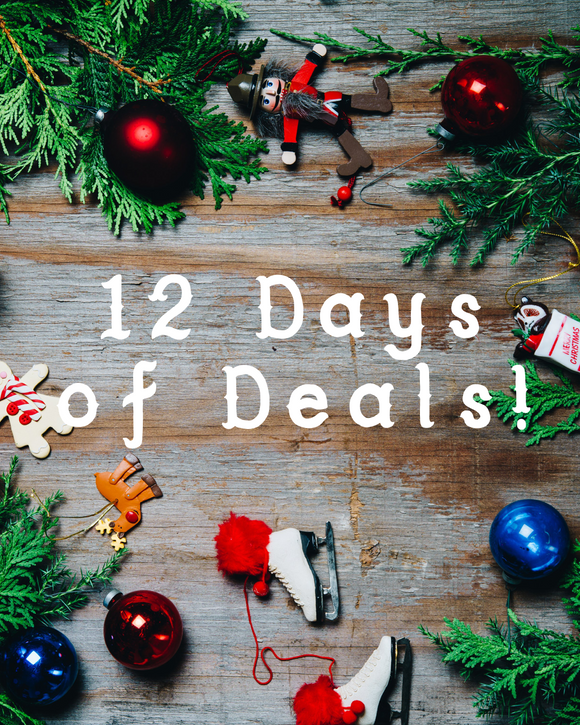 12 Days of Deals 2018 - Day One!