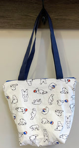 Big Bag | Polar Bear on White