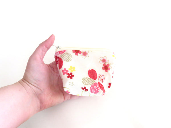Notions Pouch || Sakura on Ivory