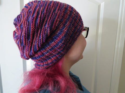Ridged for Your Pleasure Sock Hat