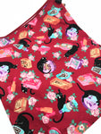 Fabric Envelope || Sassy Cat and Cosmetics