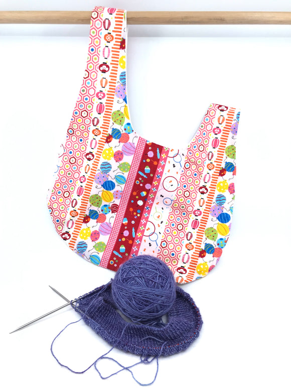 Knot Bag || Festival Activities || Japanese Fabric Project Bag