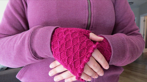 Quilted Spring Mittens