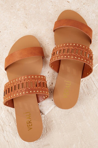 Bali Slides Tan - Lily and Fox Boutique