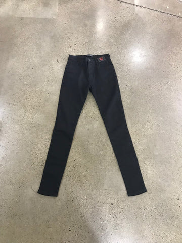 BLACK HIGH WASTED JEANS