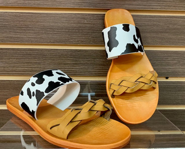 COW SLIDES - TWO STRAPS