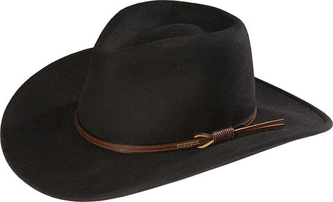 Stetson Sturgis Cordova Pinchfront Crushable Wool Felt Hat - Men's or Women's - Made in USA