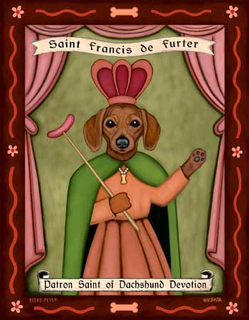 Pug - Fawn - Dog Art Print - Made in USA - Patron Saint of Obstinance