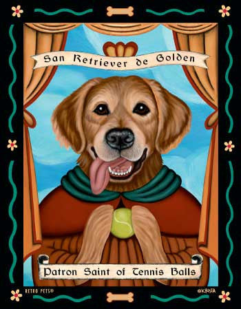 German Shepherd - Dog Art Print - Picture Made in USA - Patron Saint of Loyalty