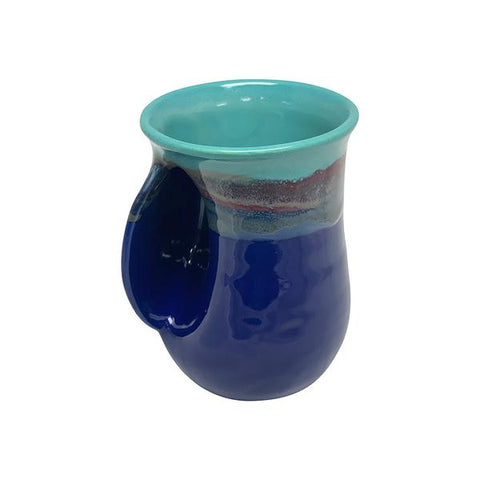HANDWARMER MUG -  Made for Left and Right Handed - Made in USA - ISLAND OASIS