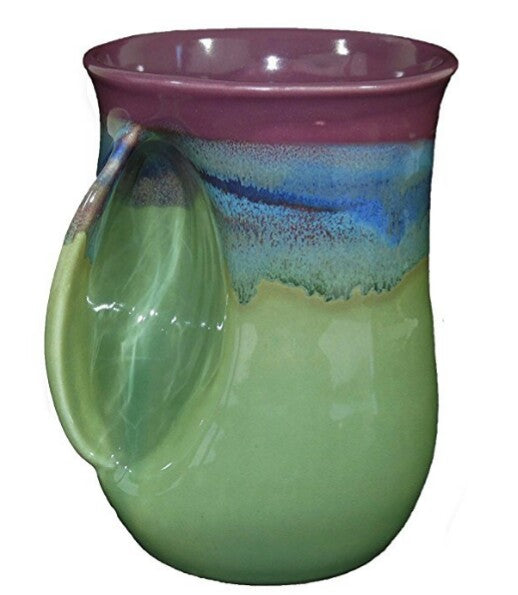 Clay in Motion Handwarmer Mug-Mossy Creek-Left Handed