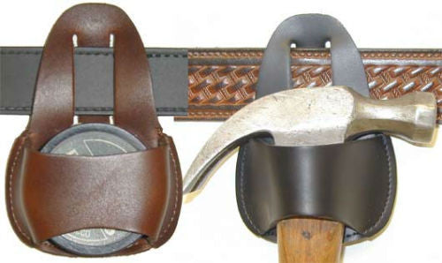 Leather Hammer Loop and Skoal Holder - Made in USA