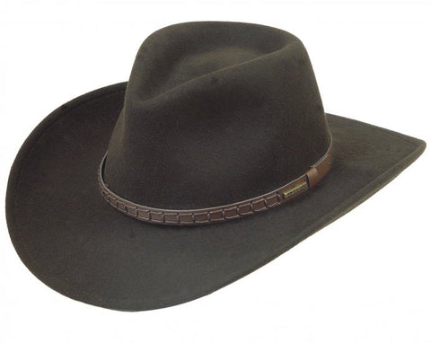 Stetson Blackfoot Hat - Crushable Wool Felt - Men's or Women's - Made in USA