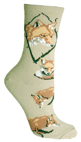 Akita Socks for Men and Women - Gray or Taupe - Made in USA - Dog Socks