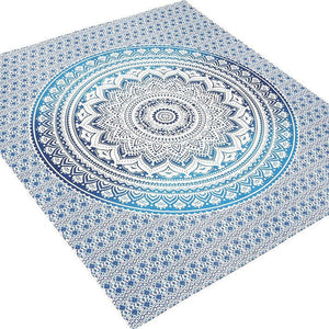 Goood Times Queen Size Ombre Mandala Tapestry - Oussum
