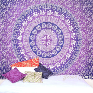 Goood Times Wall Decor Hippie Tapestries Bohemian Mandala Tapestry Wall Hanging Indian Throw - Oussum