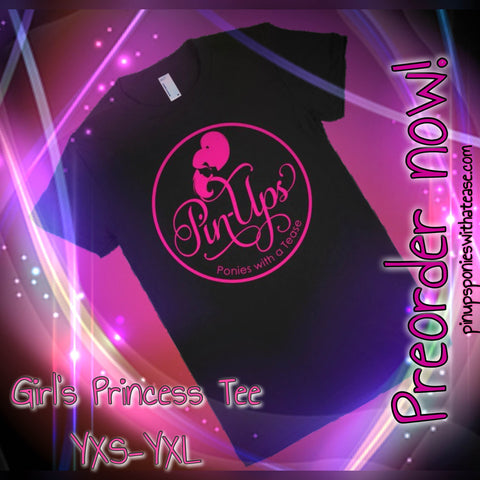 * Girl's Princess Tee